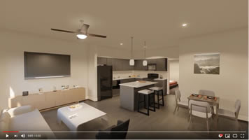19West One Bedroom Floorplan