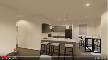 19West Three Bedroom Floorplan
